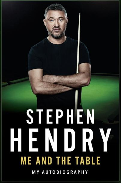 Stephen Hendry Book Signing